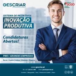 Sistema Incentivos Inovação Produtiva - Candidaturas Abertas